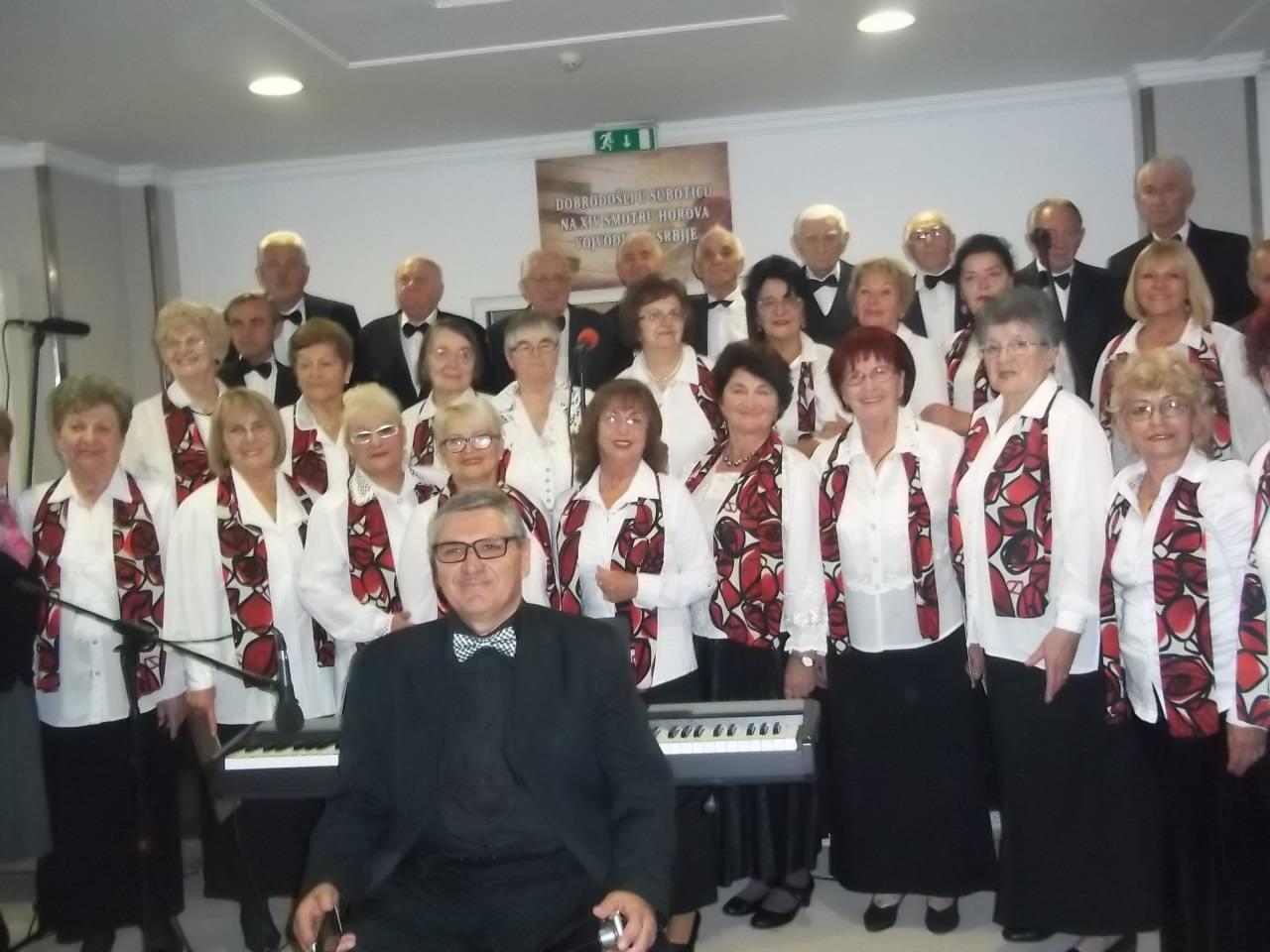 XIV смотра пензионерских хорова Војводине
